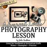 Take Great Pictures for Yearbook: Advanced Photography Lessons