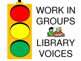 Yellow Light for Group Work Traffic Signal