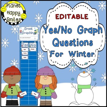 Yes/No Graph Questions about Winter