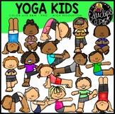 Yoga Fun Clip Art Bundle