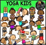 Yoga Fun Clip Art Bundle