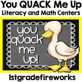 You Quack me UP! ELA & Math Centers
