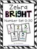 Zebra Bright Classroom Decor