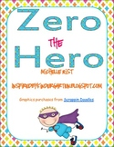 Zero the Hero Reproducible Books