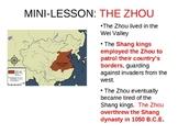 Zhou Dynasty Feudalism Simulation PowerPoint