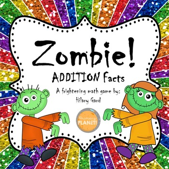 Zombie!  Addition Game!