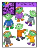 Zombie Party {Creative Clips Digital Clipart}