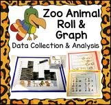 Zoo Animal Roll & Graph Activity
