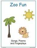 Zoo Animals Songs, Poems and Fingerplays