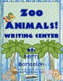 Zoo Animals! Writing Center