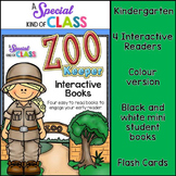 Zoo Keeper Interactive Easy Reader Books
