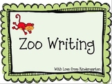Zoo Writing {freebie}