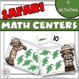 Zoo math centers