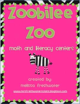 Zoobilee Zoo Math & Literacy Centers