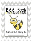 b.e.e. book labels {free printables}