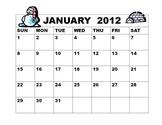 calendar comprehension
