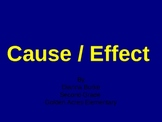 cause and effect ppl 1st grade