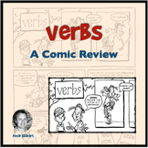 A Comic Lesson On Verbs With Activities