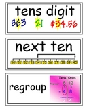 enVision Grade 2 Topics 5-10 Vocabulary Word Wall Cards