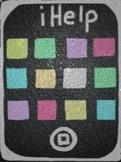 iHelp Classroom Job Posters