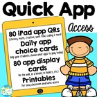 iPad App Starters for Primary (Pre-K to 1st)