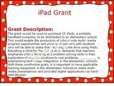 iPad Grant Information
