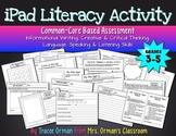 No Prep iPad Literacy Common Core Writing Activity {Grades 3-5}
