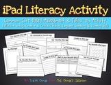 No Prep iPad Literacy Creative Writing Activity {Primary Grades}