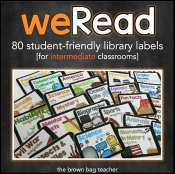 iRead: Engaging Book Bin Labels for the Intermediate Classroom