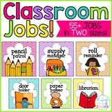 jobs in the classroom! {chevron theme}