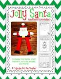 Jolly Santa {Craftivity & Printables}
