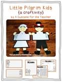 little pilgrim kids {a craftivity}