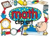 math clip art set