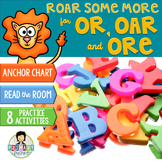 or, -ore, -oar Word Work ~Phonics~ Activity Pack-