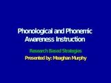 Phonics Strategies and Tips Pre-K- Grade 2