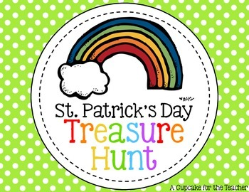 st. patrick's day treasure hunt {printable clues}