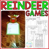 reindeer games {craftivity & printables}