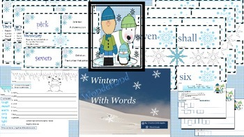 * Third Grade:Winter Theme-Spelling and Vocabulary