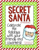secret santa {FREEBIE}