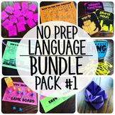 Language Therapy BUNDLE PACK {No Prep Practice}