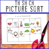 th sh ch Digraph Picture Sort