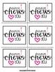 "valentine, i ""chews"" you! {a craftivity}"