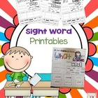 wh Sight Word *freebie*
