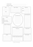 writing - Biography Graphic Organizer