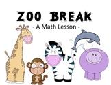 zoo break - a math lesson