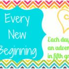Every New Beginning Blog