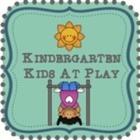 Kindergarten Kids At Play